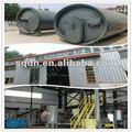 resíduos de reciclagem de pneus máquina de pirólise