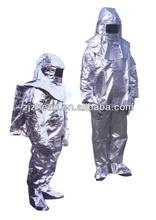 aluminized fire suit/aluminized fire proximity suit