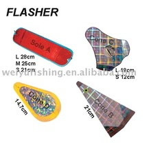 fishing tackle flasher