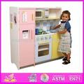 2014 neue und beliebte holz kinder küche, spielzeug eine eigene küche kinder spielen, Kühlschrank und Waschmaschine Kombination 2( wj278046)
