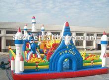 Hot sale Inflatable Rocket center/Infaltable amusement park