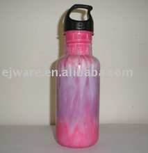 Stainless steel sports bottle with special coating