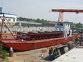 Automotor rio transporte de areia barcaça transporte barco