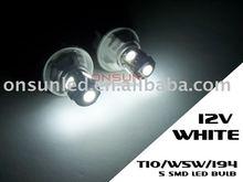 5 SMD LED BULB T10/W5W/194 car led tuning light