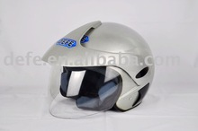 red white and blue motorcycle helmet