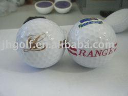 2 pieces range golf ball