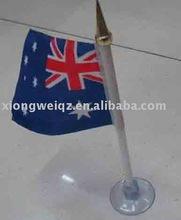 sucker desk/table flag