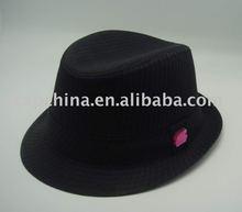 Black Classical Fedora hat