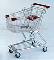 Cromo 90l supermercado, venta al por menor, de comestibles carrito de la compra, de la carretilla