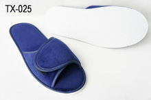 Blue Cotton Hotel Slipper/Disposable/Travel/Airplane/Train