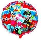 100% round shape mylar balloon