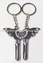 love angel metal keychain souvenir