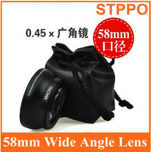 STPPO Digital Camera 58mm Wide Angle and Macro Camera Lens for Canon