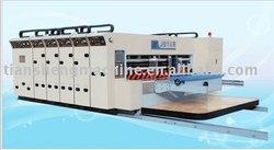 SMYKM1200-G-B type full-auto water ink printing slotting die cutting machine