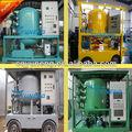 Série zja duplo- estágio de alto vácuo do transformador de óleo de mudança de óleo recuperação de petróleo planta de desidratação