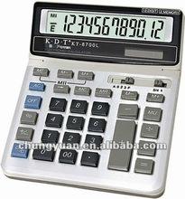 Solar power desktop calculator KT-8700L