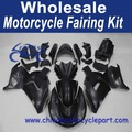 Abs moto kit carénage pour kawasaki zx14r 2006-2011 07 08 09 10 all black matt