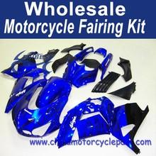 Motorcycle ABS fairing kit for KAWASAKI ZX14R 2006-2011 07 08 09 10 2006 2007 BLACK FLAME