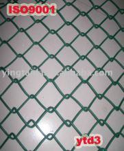 PVC coated chain link fence(type: wire diameter 1mm--5mm,size:3*3cm,4*4cm,5*5cm,6*6cm,7*7cm...