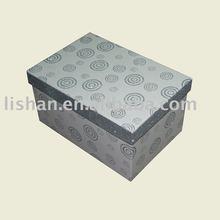 Giltter cardboard gift box