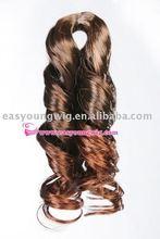 Synthetic hair bulk, hair extension, hair pieces