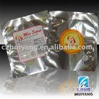 Plastic aluminum foil food bag for cake/hot chicken packaging