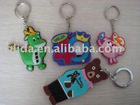 soft pvc rubber keychain