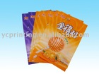 small moq printed food packing aluminum foil chocolate bag
