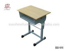 Wooden Single Children Writing Desk