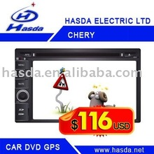 Car DVD player for CHERY A3 with GPS, BT, TV, ipod, steering wheel control