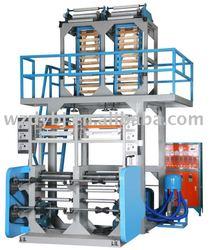 SJ-65-FM800 Double Head Plastic polypropylene(PE) Film Blowing Machine (LDPE,HDPE)(film extrusion machine,film extruder)