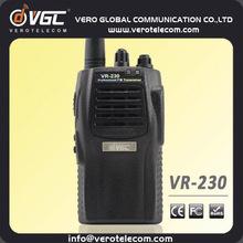 China Manufacturer DTMF ANI-ID Police UHF VHF Handheld Long Distance Radio Communication