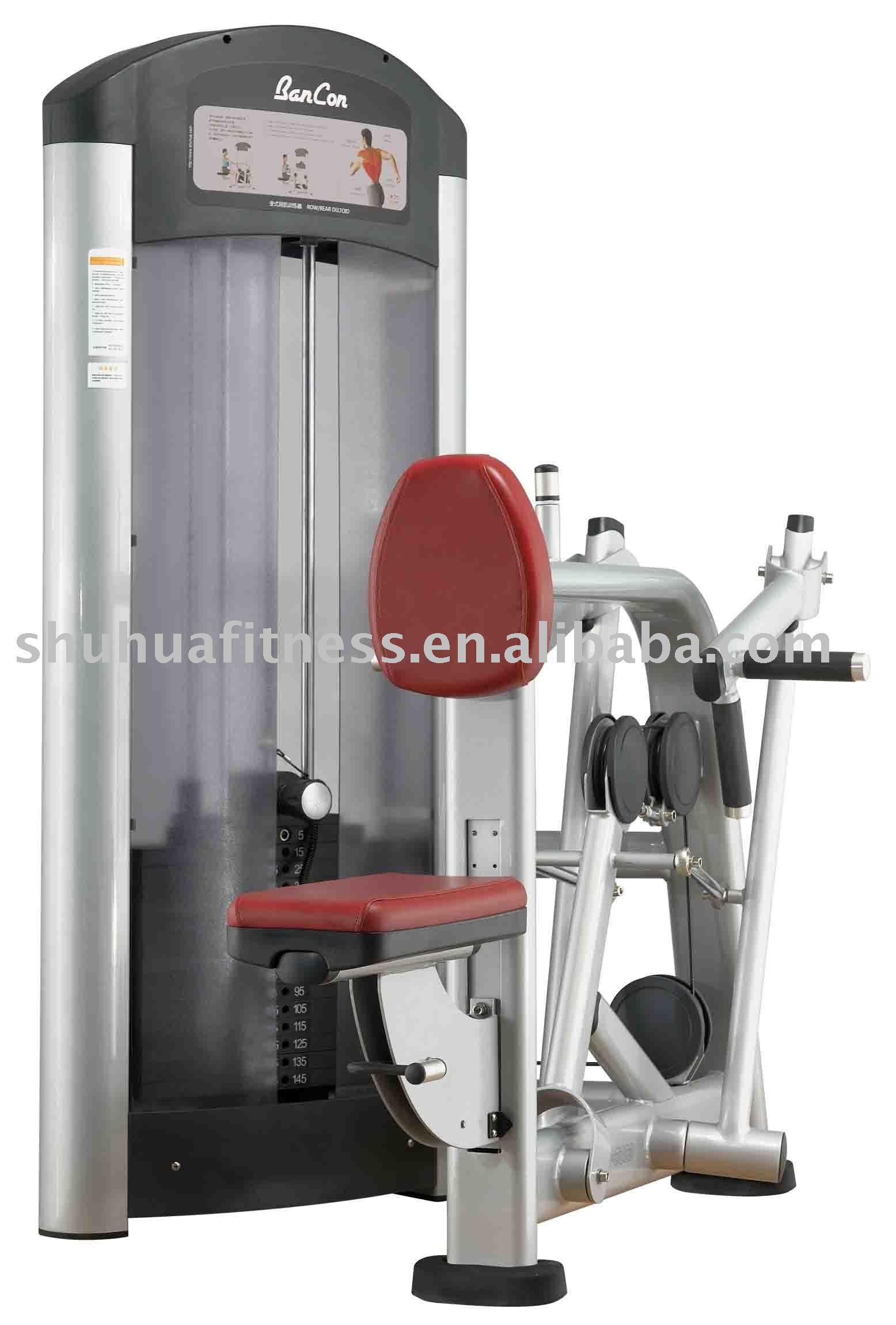row rear deltoid machine