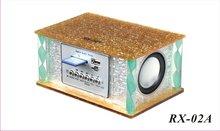 RX-02A Portable mini wood speaker