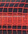 100% virgin HDPE de malha pesado UV cerca de segurança com densa centro