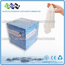 compressed tablet magic towel in 100(250 or 500)pc color box