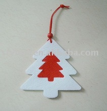2012 felt snowing Christmas tree
