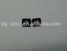 conductive silicone rubber button