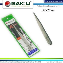 Ultra Fine Point Long Stainless Tweezers (BK-27-Sa A3)