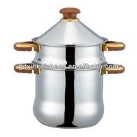 stainless steel popular design couscous pot