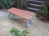 2014 Top Sale Outdoor Plastic Wood Leisure Garden Bench