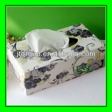 Luxury printing art duplex paper tissue box