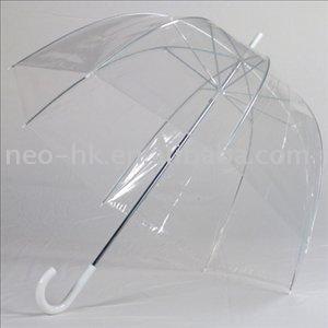 ombrello trasparente cupola