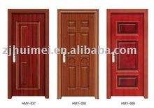 inner door,interior steel wooden door,steel panel door,passed ISO9001:2000