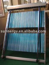 Plastic solar pool heater collectors