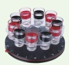 10pc shot DRINKING ROULETTE GAME SET