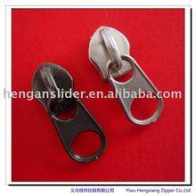 fashion zipper slider/head Various fashion slider for Garment zippers da slider zipper