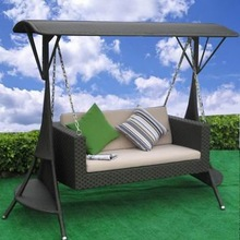2012 hot outdoor furniture rattan swing chair