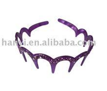 headband plastic headband headband with rhinestone