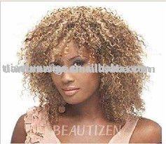 100  indian human hair afro
